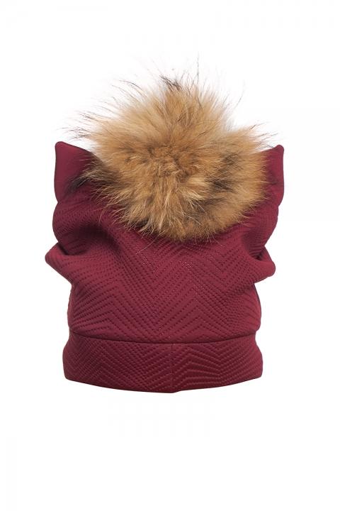 Дамска шапка Red foxy