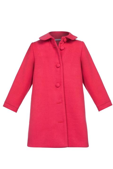 Детско Палто Rose - Детски дрехи  - Палта, Луксозни дрехи, бански 2019, промоция бански, комплект мама и бебе, ленени ризи, дрехи по поръчка, шапки с пух, дамски дрехи, дамски палта, Палта
