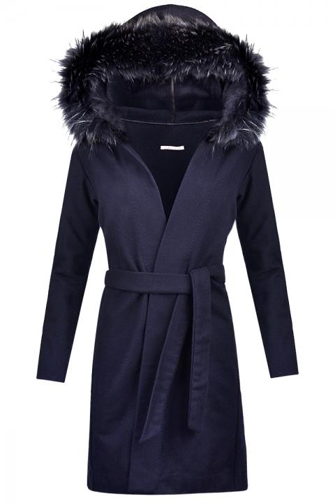 Дамско палто MAISON - Дамски дрехи  - Палта, Луксозни дрехи, бански 2019, промоция бански, комплект мама и бебе, ленени ризи, дрехи по поръчка, шапки с пух, дамски дрехи, дамски палта, Палта