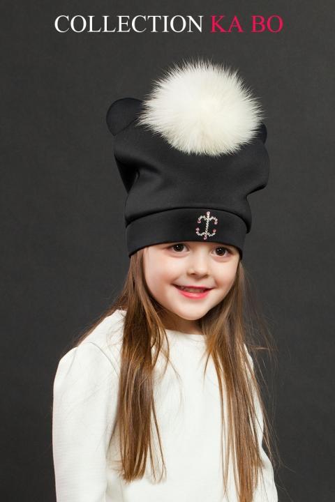 Детска шапка Panda с уши