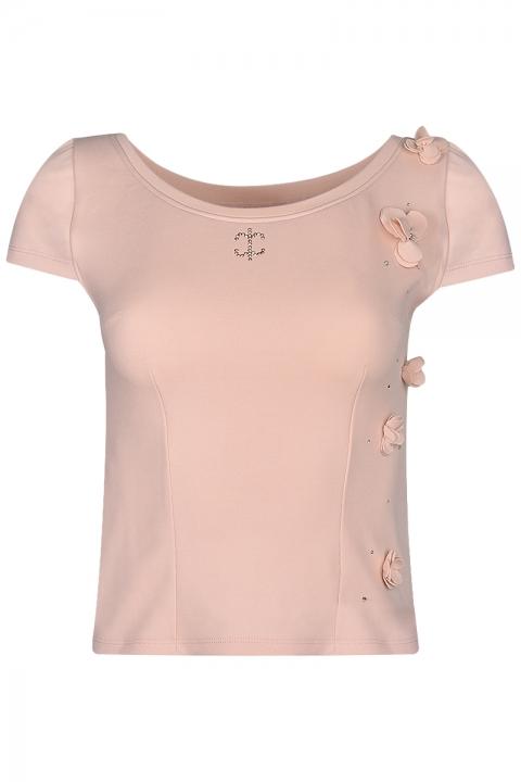 Тениска Four Leaf Clover - Дамски дрехи  - Топ, Луксозни дрехи, бански 2019, промоция бански, комплект мама и бебе, ленени ризи, дрехи по поръчка, шапки с пух, дамски дрехи, дамски палта, Топ