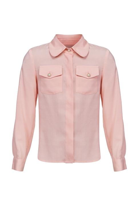 Дамска Риза  - Дамски дрехи  - Ризи, Луксозни дрехи, бански 2019, промоция бански, комплект мама и бебе, ленени ризи, дрехи по поръчка, шапки с пух, дамски дрехи, дамски палта, Ризи