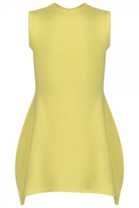 Детска рокля Lemon - Детски дрехи  - Рокли, Луксозни дрехи, бански 2019, промоция бански, комплект мама и бебе, ленени ризи, дрехи по поръчка, шапки с пух, дамски дрехи, дамски палта, Рокли