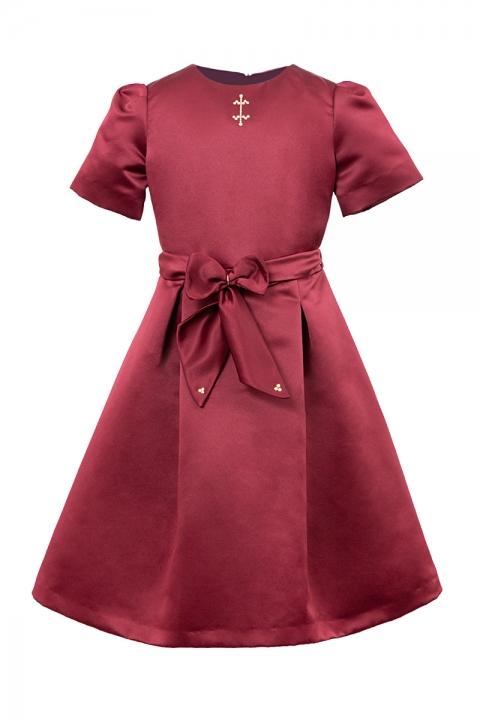 Детска рокля Guy Savoy - Детски дрехи  - Рокли, Луксозни дрехи, бански 2020, промоция бански, комплект мама и бебе, ленени ризи, дрехи по поръчка, шапки с пух, дамски дрехи, дамски палта, Рокли