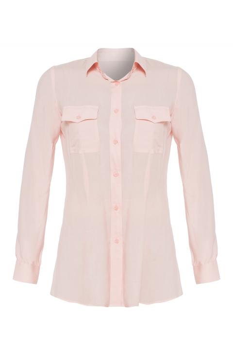 Дамска риза Rose - Дамски дрехи  - Ризи, Луксозни дрехи, бански 2018, промоция бански, комплект мама и бебе, ленени ризи, дрехи по поръчка, шапки с пух, дамски дрехи, дамски палта, Ризи