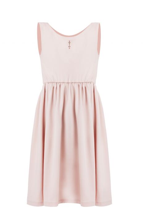 Детска рокля Fiola - Детски дрехи  - Рокли, Луксозни дрехи, бански 2020, промоция бански, комплект мама и бебе, ленени ризи, дрехи по поръчка, шапки с пух, дамски дрехи, дамски палта, Рокли