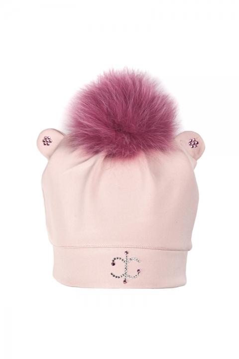 Дамска / Детска шапка  Pink Star  - Аксесоари  - Детски Шапки, Луксозни дрехи, бански 2018, промоция бански, комплект мама и бебе, ленени ризи, дрехи по поръчка, шапки с пух, дамски дрехи, дамски палта, Детски Шапки