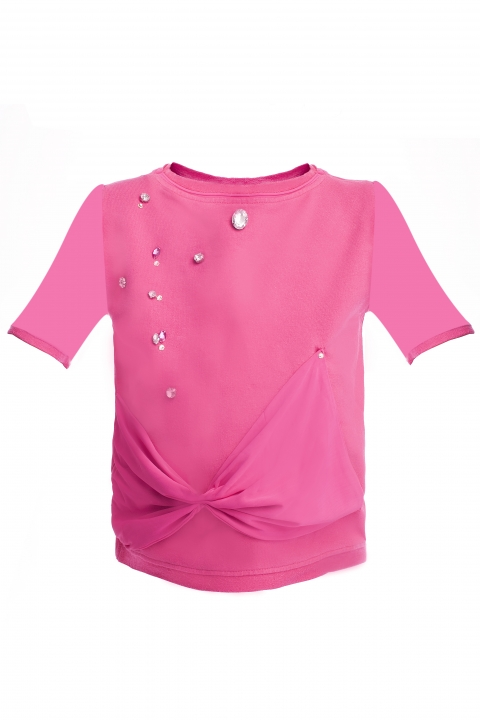 Детска блуза Mini Pink