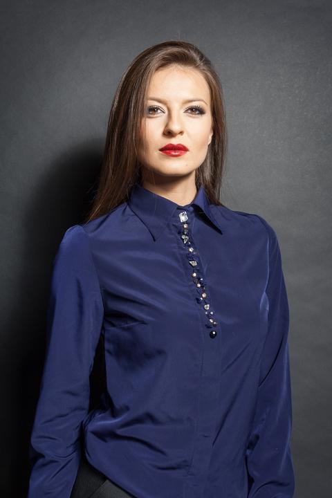 Дамска риза Krystal - Дамски дрехи  - Ризи, Луксозни дрехи, бански 2018, промоция бански, комплект мама и бебе, ленени ризи, дрехи по поръчка, шапки с пух, дамски дрехи, дамски палта, Ризи