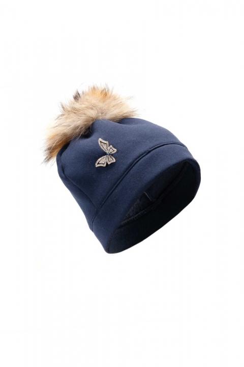 Дамска шапка Blue fox