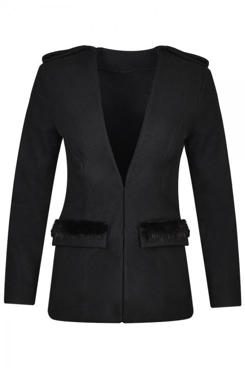 Дамско палто Аspen - Дамски дрехи  - Палта, Луксозни дрехи, бански 2018, промоция бански, комплект мама и бебе, ленени ризи, дрехи по поръчка, шапки с пух, дамски дрехи, дамски палта, Палта