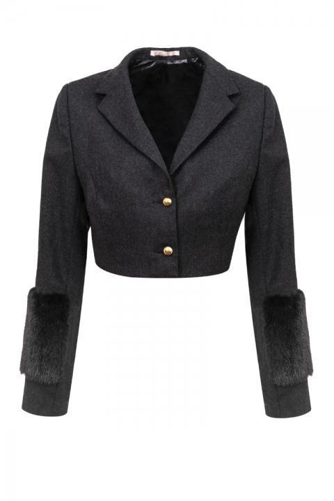 Дамско късо сако