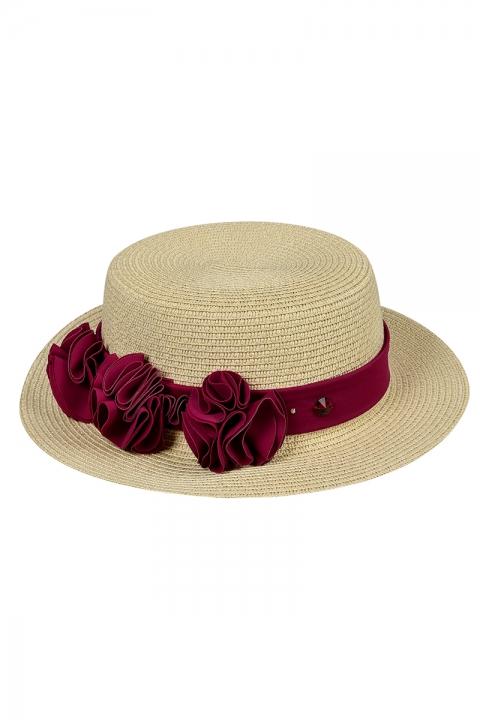 Дамска шапка  - Аксесоари  - Дамски Шапки, Луксозни дрехи, бански 2020, промоция бански, комплект мама и бебе, ленени ризи, дрехи по поръчка, шапки с пух, дамски дрехи, дамски палта, Дамски Шапки