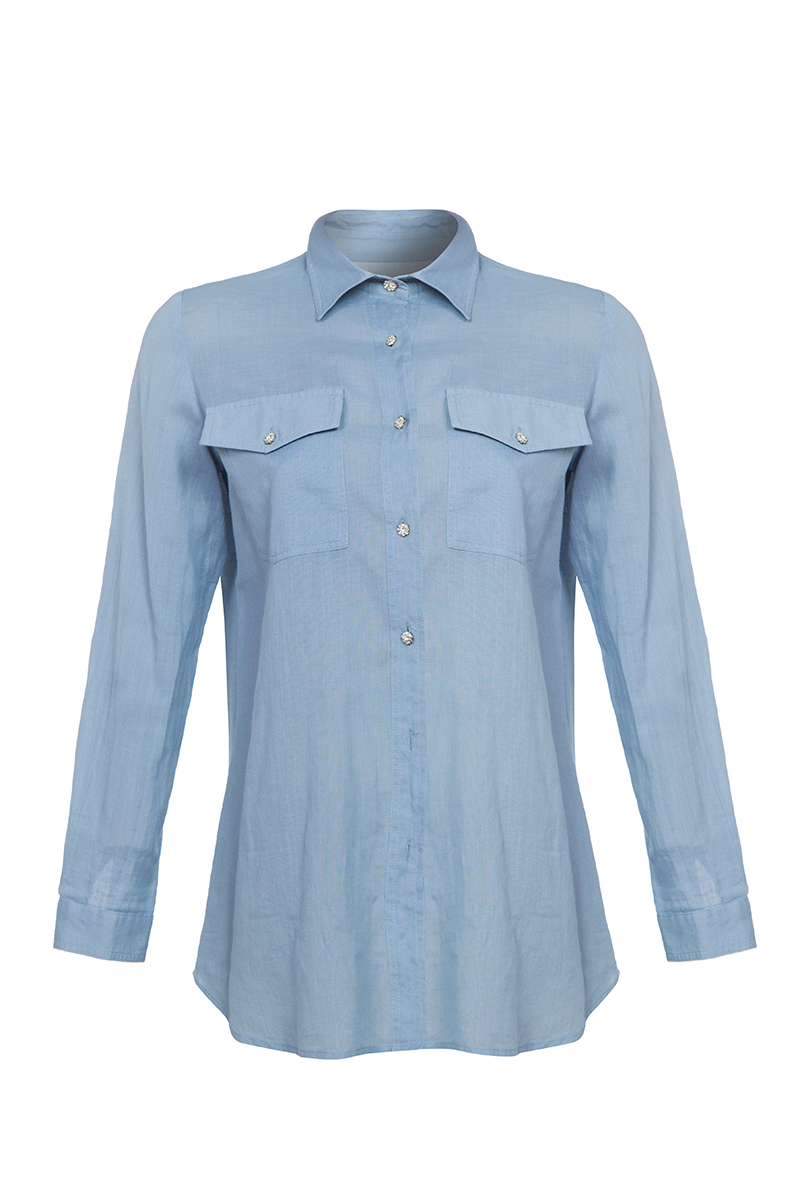 32064060a2a Дамска риза Rose - Ризи | Collectionkabo.com - Луксозни дрехи ...